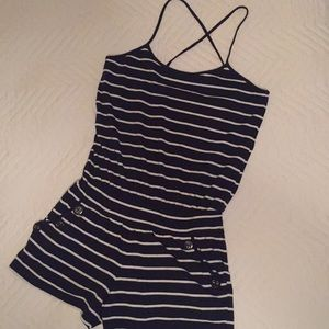 Strappy Nautical Romper ⚓️